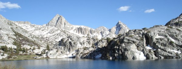 the sierras by evolution lake